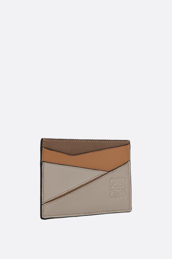 LOEWE: Puzzle card holder in Classic leather Color Multicolor_2
