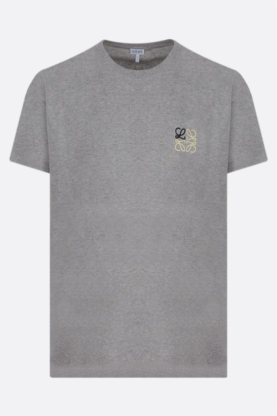 LOEWE: Anagram cotton t-shirt Color Grey_1