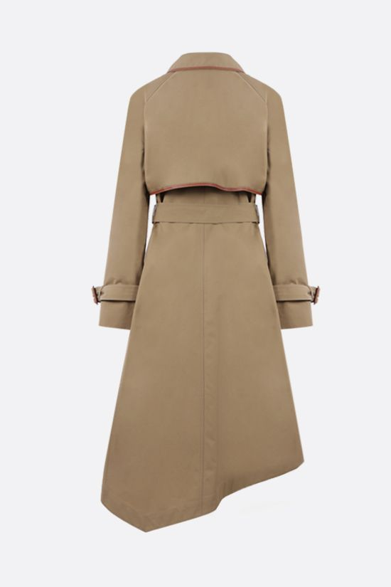 LOEWE: asymmetric cotton trench Color Neutral_2