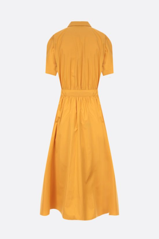 LORO PIANA: Miranda cotton shirt dress Color Yellow_2