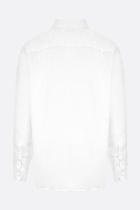LORO PIANA: Andre linen shirt Color White_2