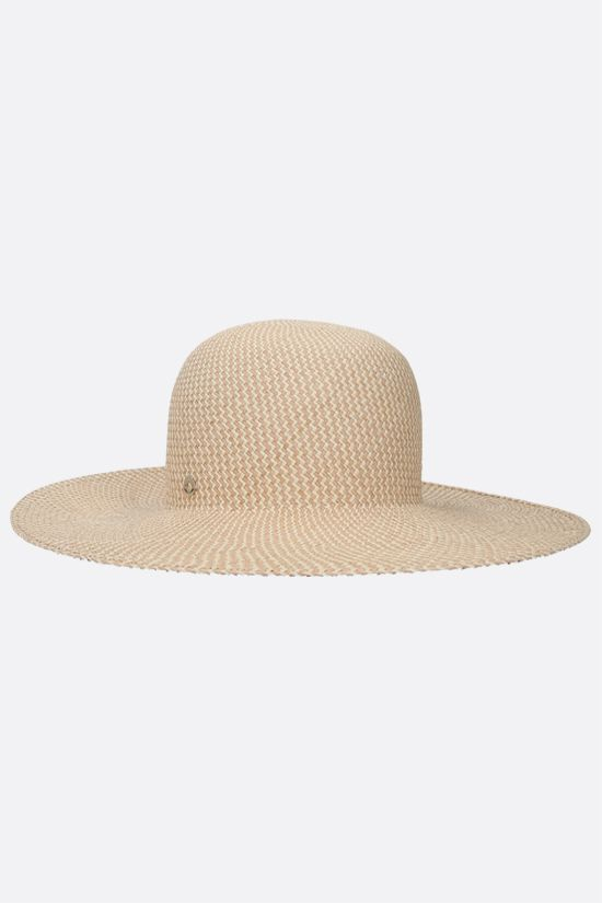 LORO PIANA: La Fossette straw hat Color Brown_1