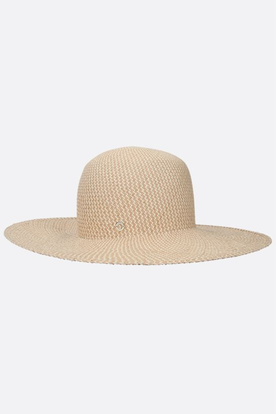 LORO PIANA: La Fossette straw hat Color Brown_2