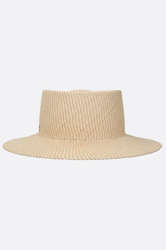 LORO PIANA: Meynadier straw panama hat Color Brown_1