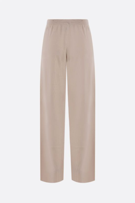 LORO PIANA: Villefranche pants in Baby Cashmere Color Neutral_2