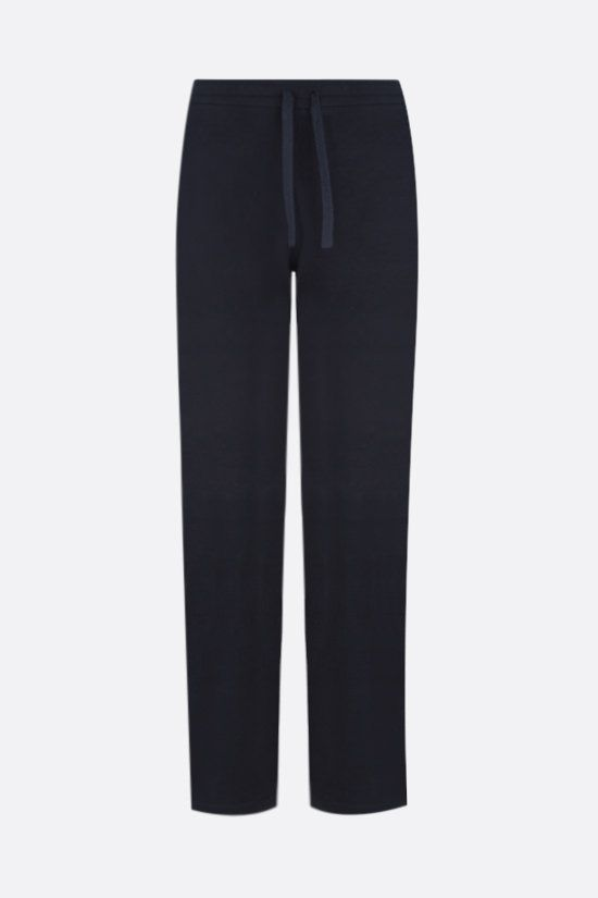 LORO PIANA: Horsey cotton joggers Color Blue_1