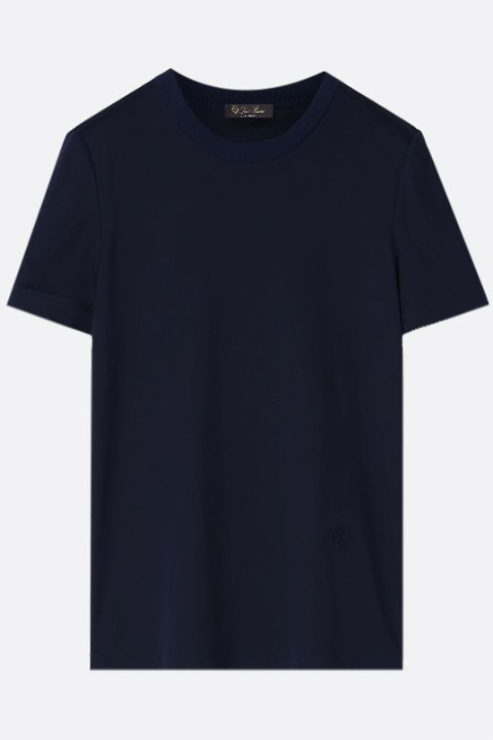 LORO PIANA: My-T cotton t-shirt Color Blue