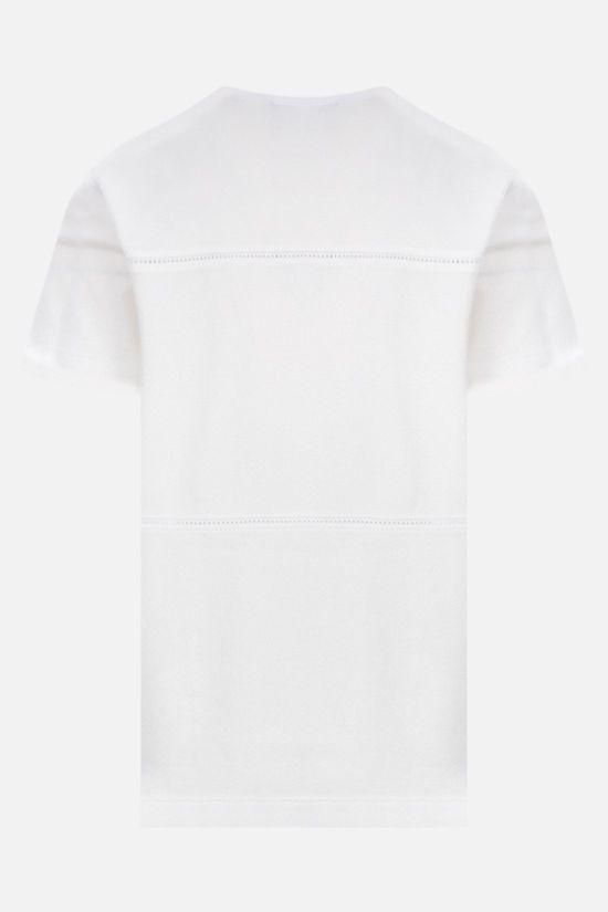 LORO PIANA: La Corniche cotton t-shirt Color White_2