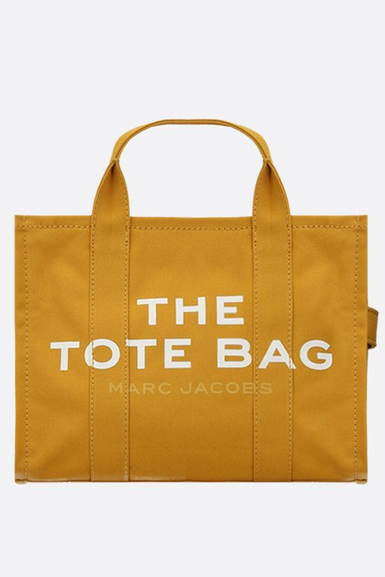 MARC JACOBS: The Traveler small canvas tote bag Color Gold_1