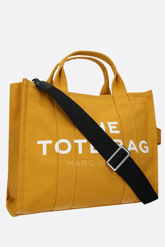 MARC JACOBS: The Traveler small canvas tote bag Color Gold_2