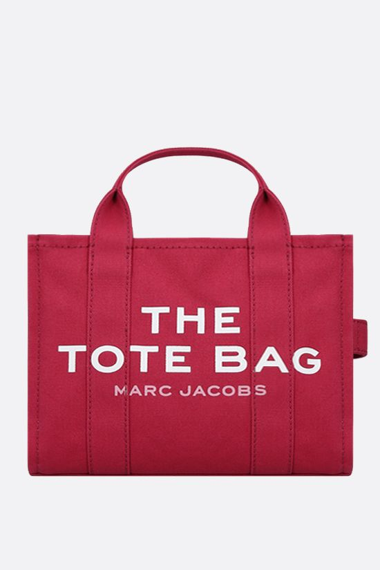 MARC JACOBS: The Traveler mini canvas tote bag Color Red_1