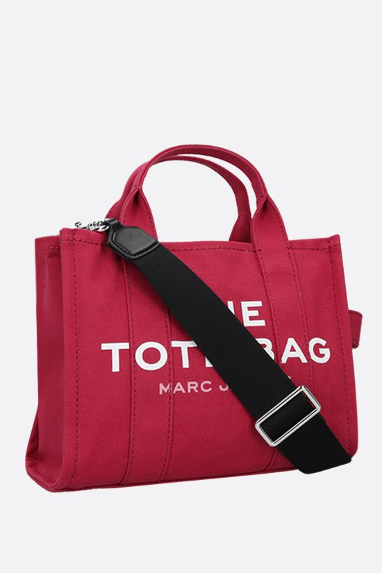 MARC JACOBS: The Traveler mini canvas tote bag Color Red_2