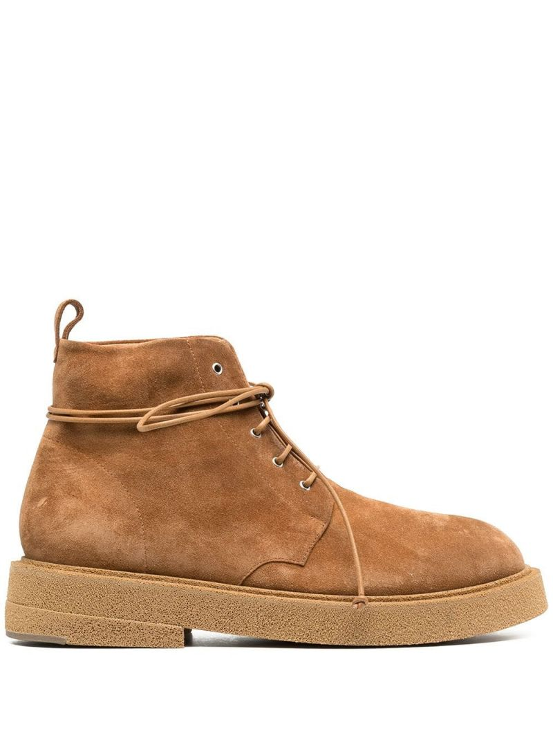 MARSELL: anfibio Micrucca in suede Colore Brown_1