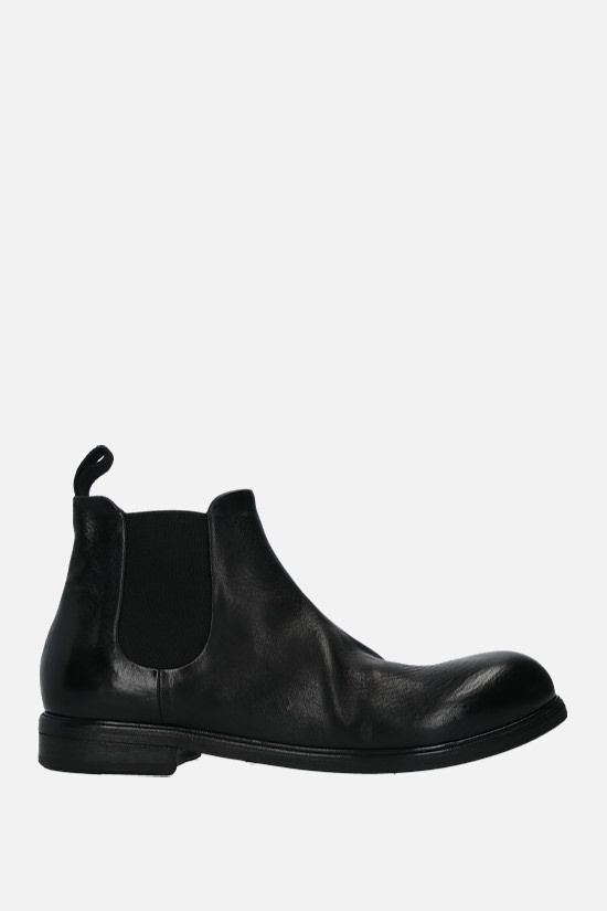 MARSELL: Zucca Media smooth leather chelsea boots Color Black_1