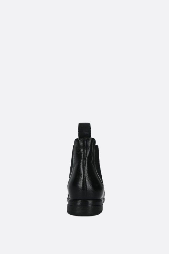 MARSELL: Zucca Media smooth leather chelsea boots Color Black_4