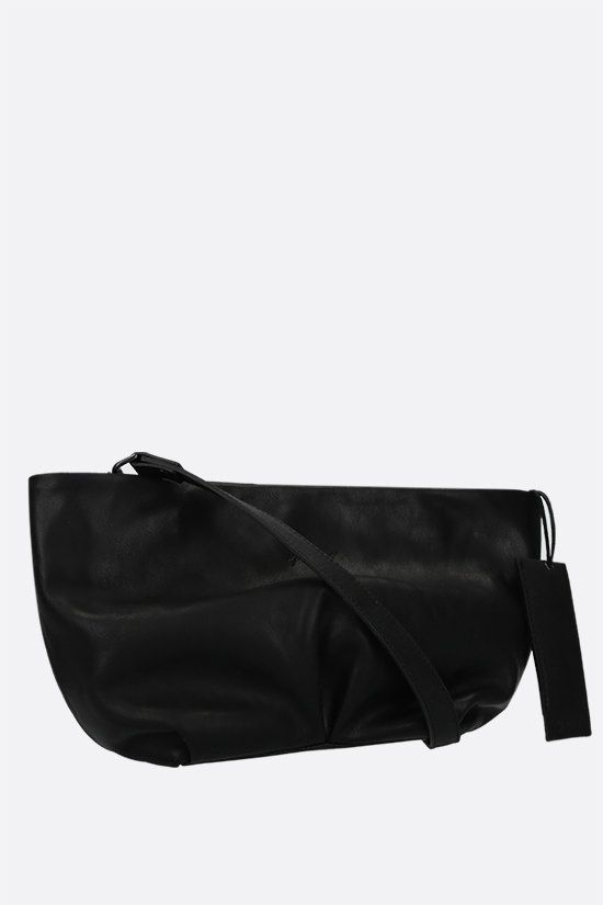 MARSELL: Spinetto small smooth leather strap clutch Color Black_2