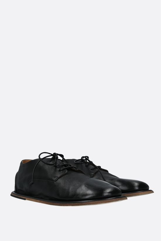 MARSELL: Guardella smooth leather derby shoes Color Black_2
