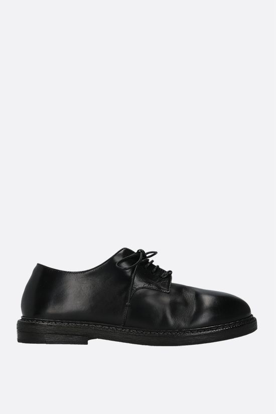 MARSELL: Nasello shiny leather derby shoes Color Black_1