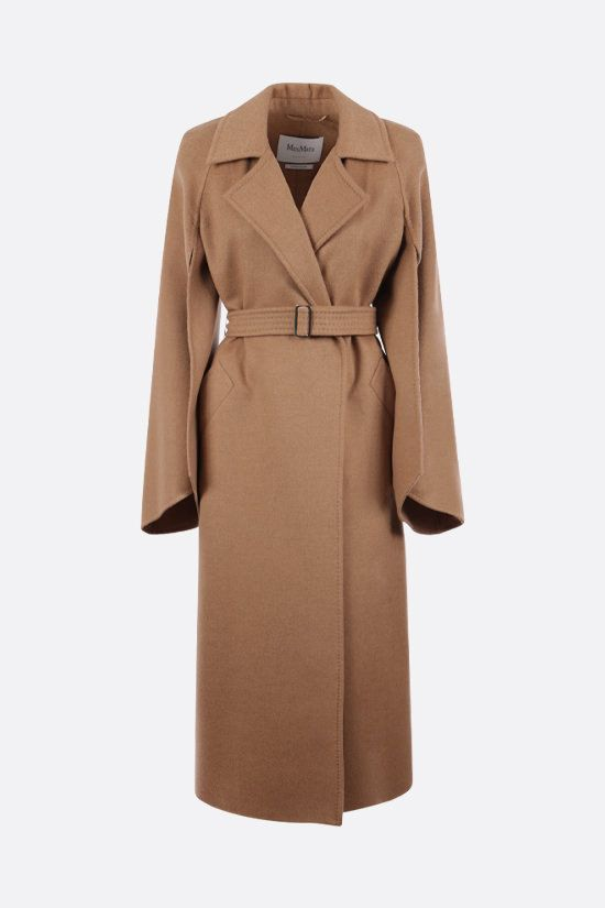 MAX MARA: Milano camel robe coat Color Brown_1
