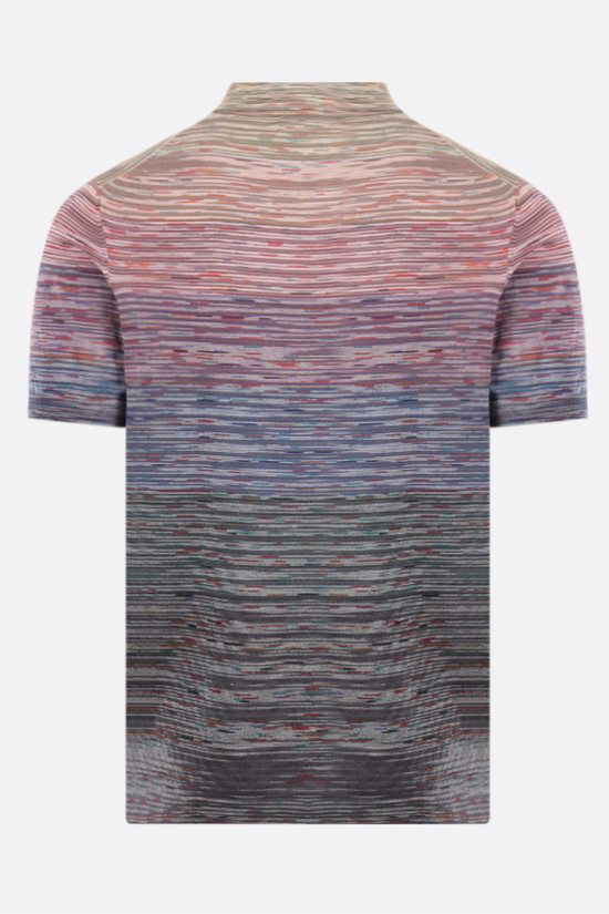 MISSONI: striped cotton polo shirt Color Multicolor_2