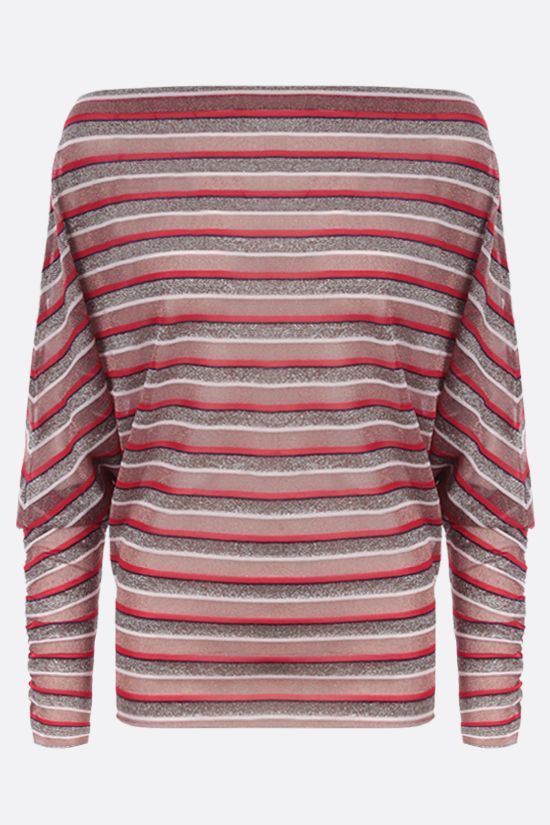 MISSONI: lurex striped pullover Color Multicolor_1
