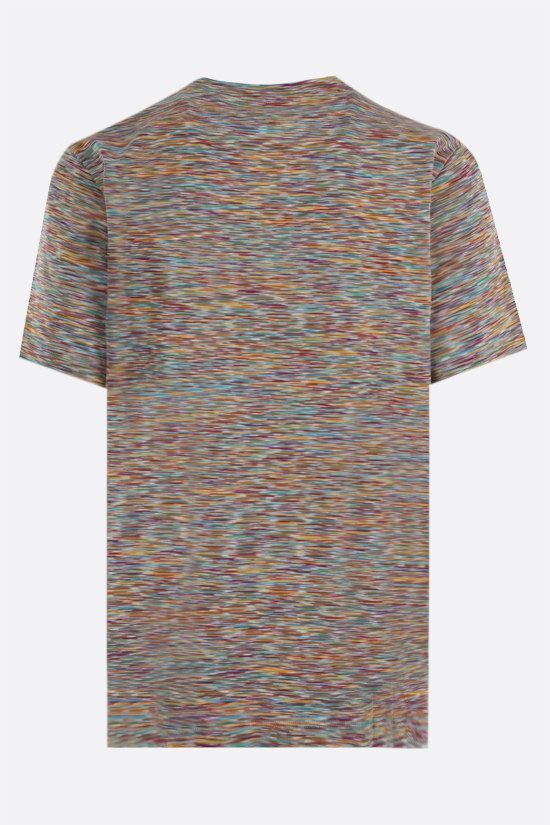 MISSONI: striped cotton t-shirt Color Multicolor_2