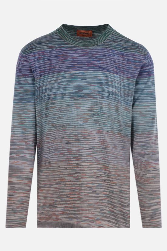 MISSONI: long-sleeved striped cotton t-shirt Color Multicolor_1