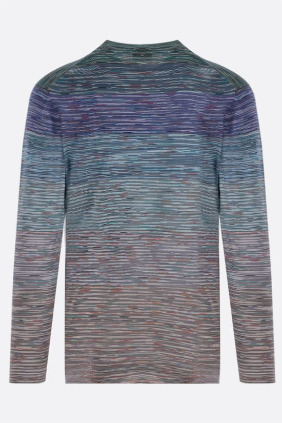 MISSONI: long-sleeved striped cotton t-shirt Color Multicolor_2