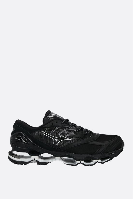 MIZUNO: Wave Prophecy LS Kuro sneakers in a mix of materials Color Black_1