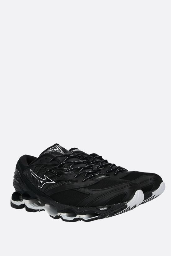 MIZUNO: Wave Prophecy LS Kuro sneakers in a mix of materials Color Black_2