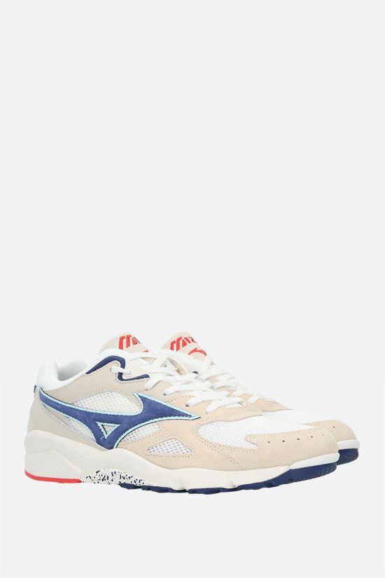 MIZUNO: sneaker Sky Medal S Premium in un mix di materiali Colore Multicolore_2