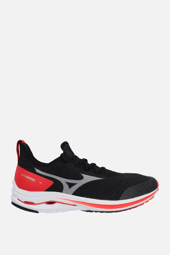 MIZUNO: Wave Rider Neo mesh sneakers Color Black_1