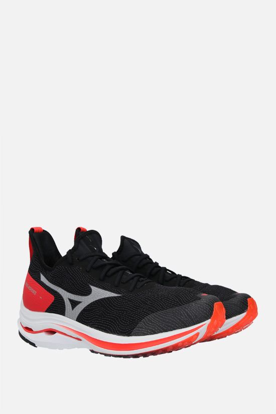 MIZUNO: Wave Rider Neo mesh sneakers Color Black_2