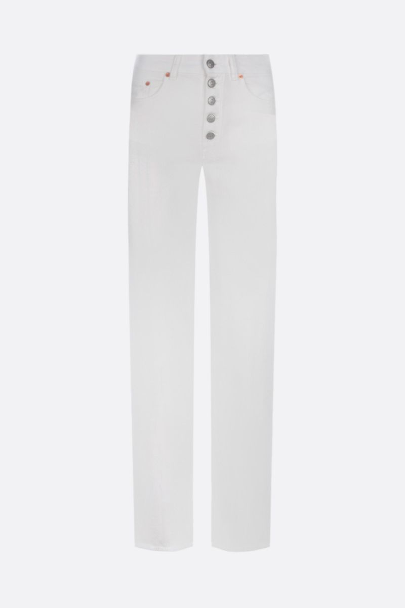 MM6: jeans slim-fit Colore White_1