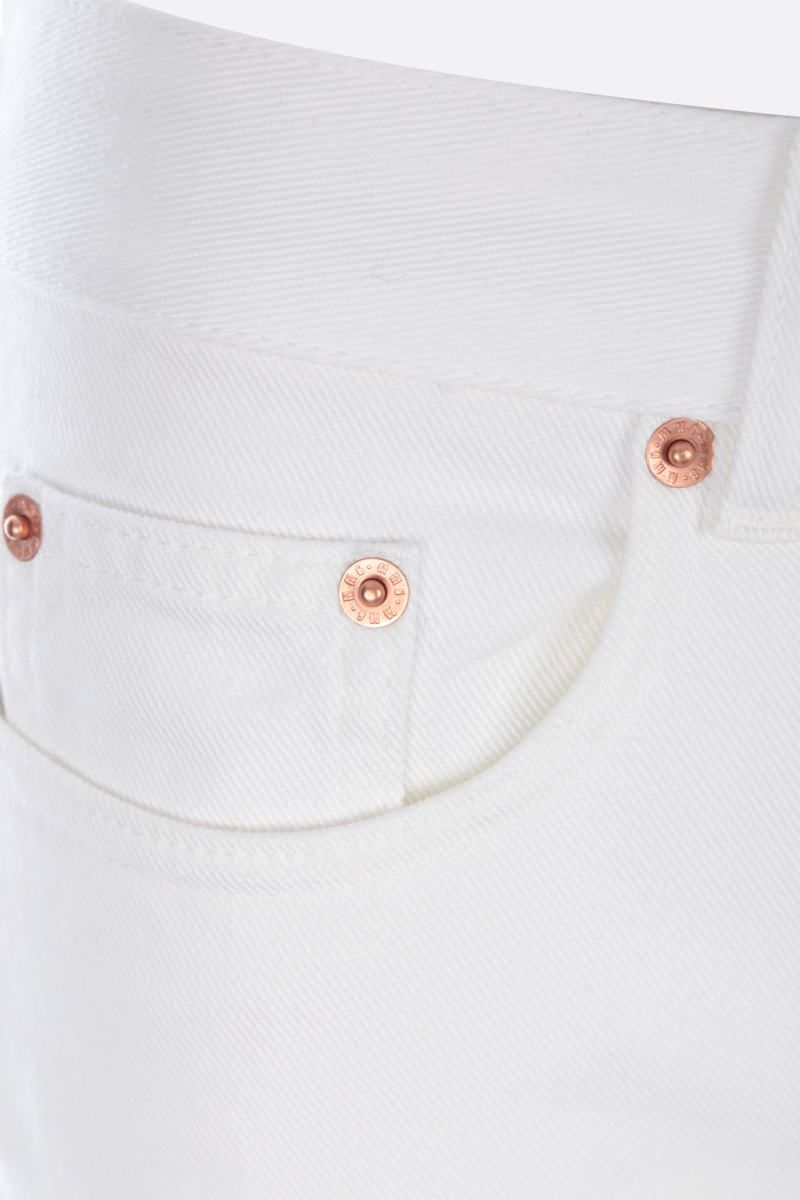 MM6: jeans slim-fit Colore White_3