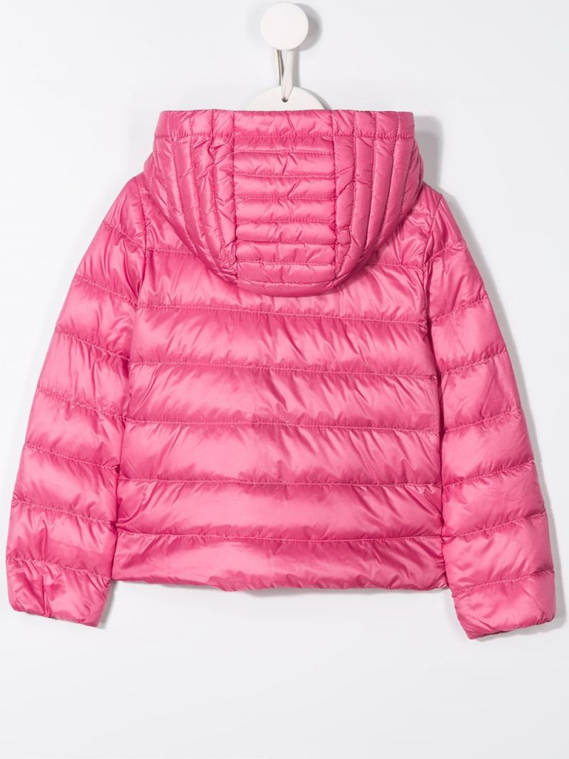 MONCLER KIDS: Glycine nylon down jacket Color Pink_2