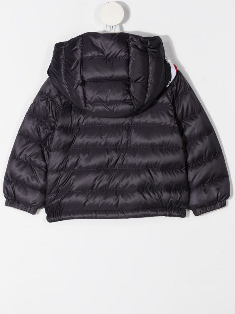 MONCLER KIDS: Gaddy nylon down jacket Color Blue_2