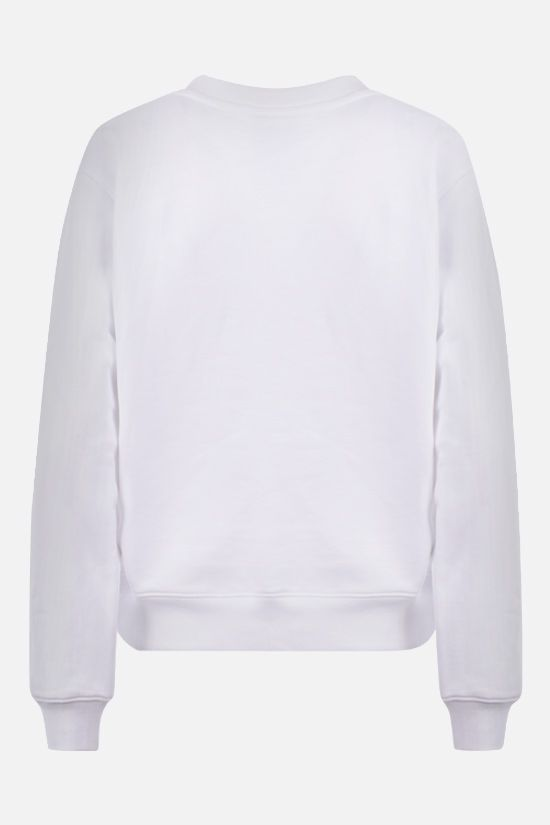 MOSCHINO: Moschino Couture! print cotton sweatshirt Color White_2