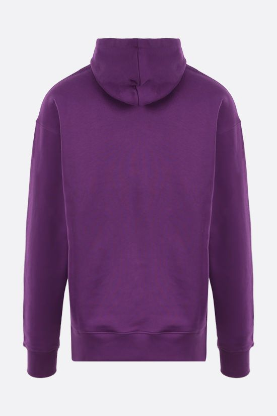 MOSCHINO: Moschino Couture! cotton hoodie Color Purple_2
