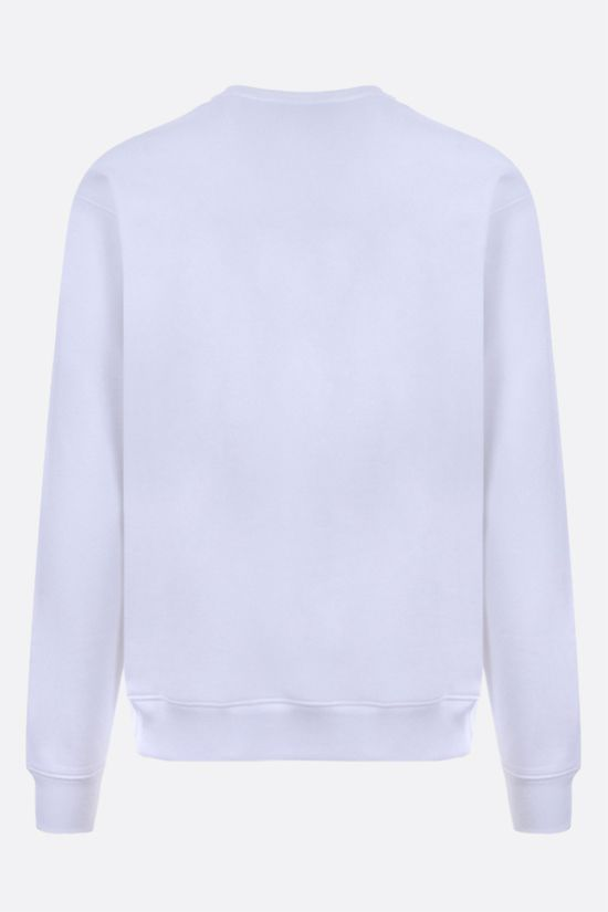 MOSCHINO: Italian Teddy Bear cotton sweatshirt Color White_2