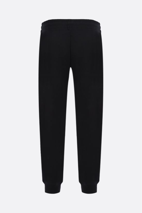MOSCHINO: Moschino Couture! cotton joggers Color Black_2
