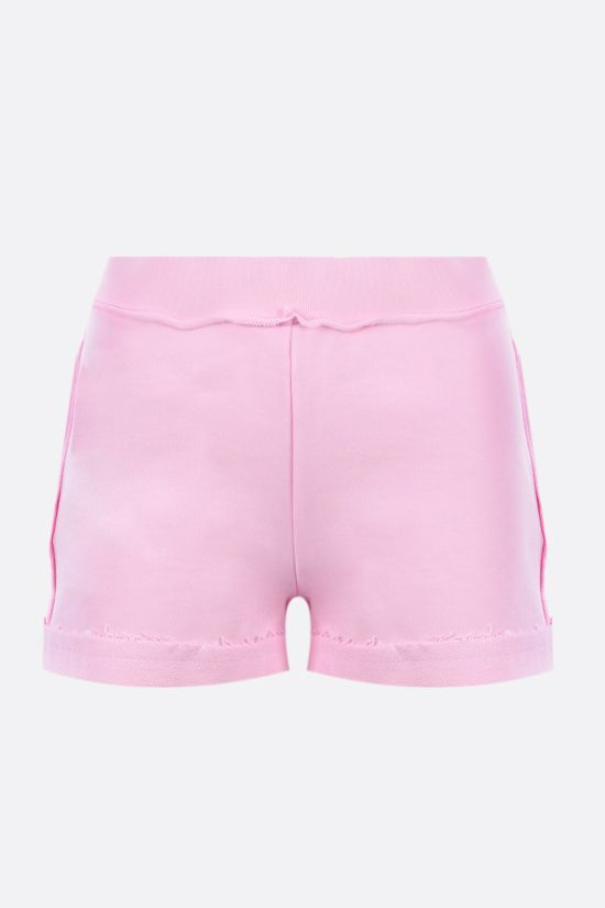 MOSCHINO: Inside Out Teddy Bear cotton shorts Color Pink_2