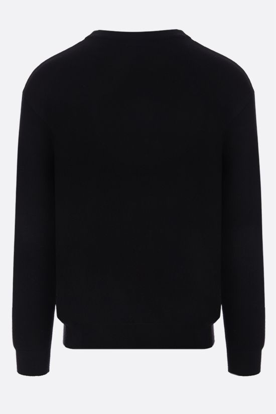 MOSCHINO: Moschino Couture! cotton cashmere blend pullover Color Black_2