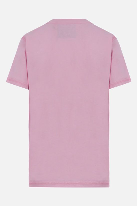 MOSCHINO: Inside Out Teddy Bear cotton t-shirt Color Pink_2