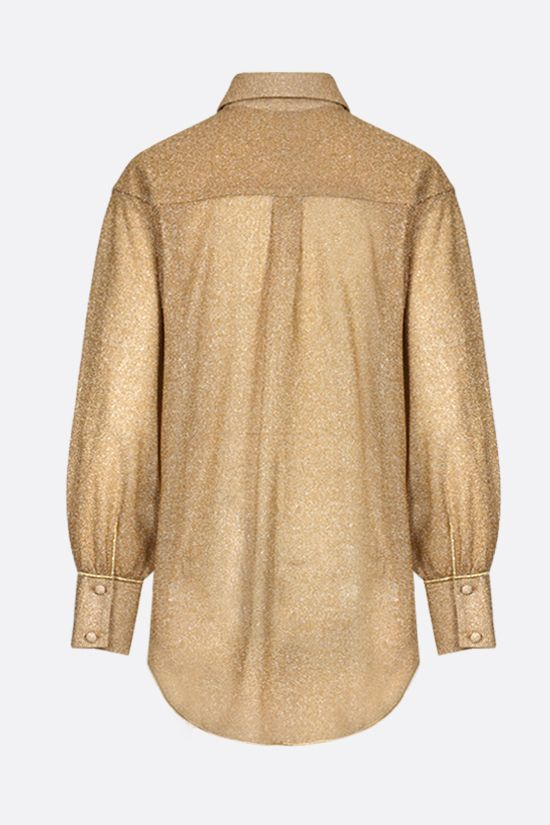 OSEREE: oversize lurex shirt Color Gold_2