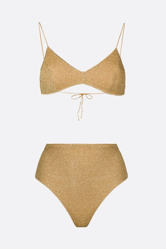 OSEREE: Lumière lurex bikini Color Gold_1
