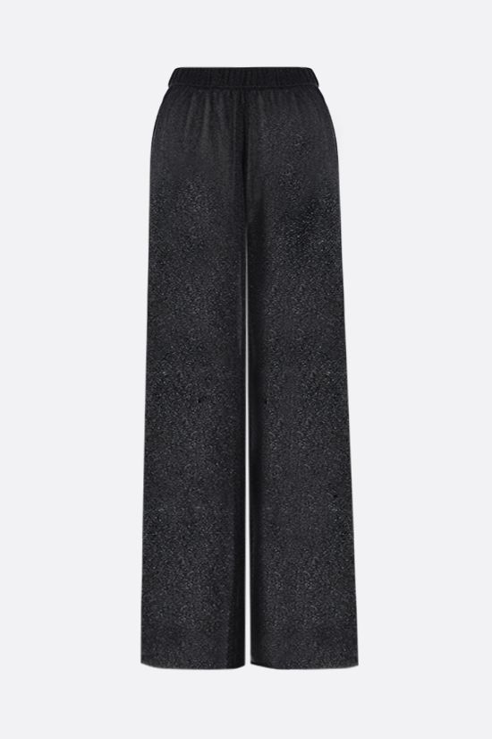 OSEREE: wide-leg lurex pants Color Black_1