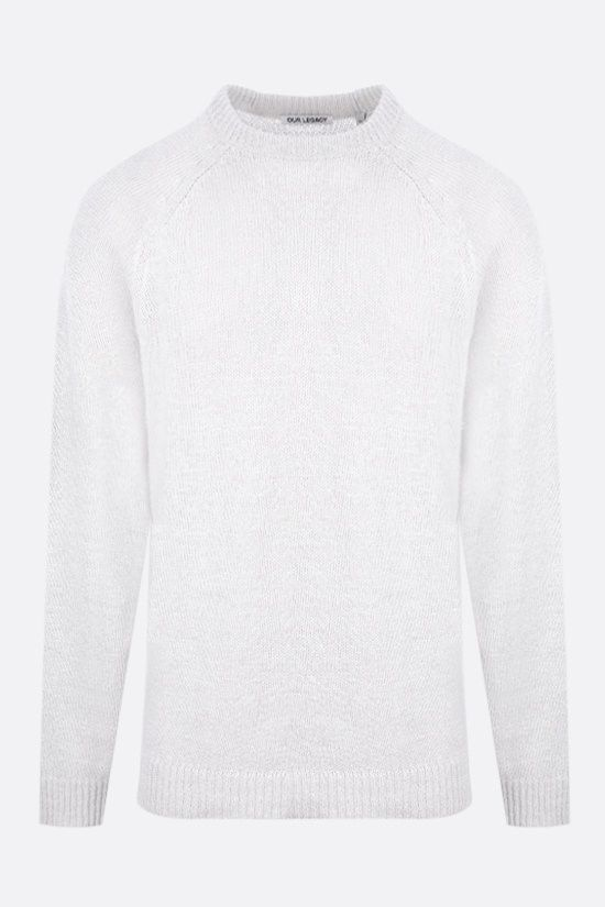 OUR LEGACY: hemp blend pullover Color White_1