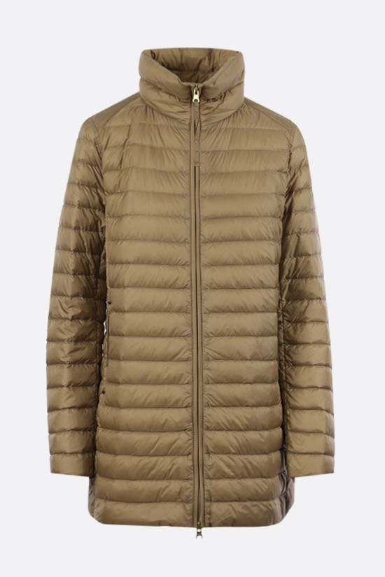 PARAJUMPERS: A nylon down jacket Color Brown_1