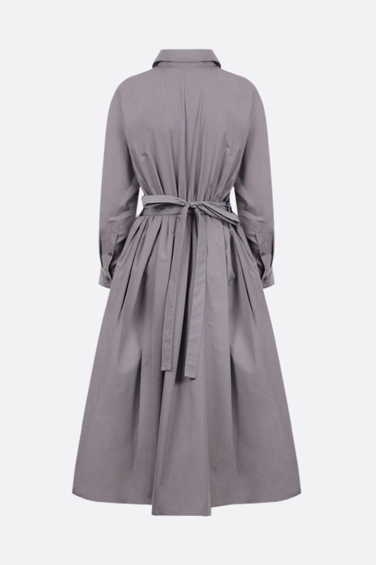 PRADA: cotton shirt dress Color Grey_2